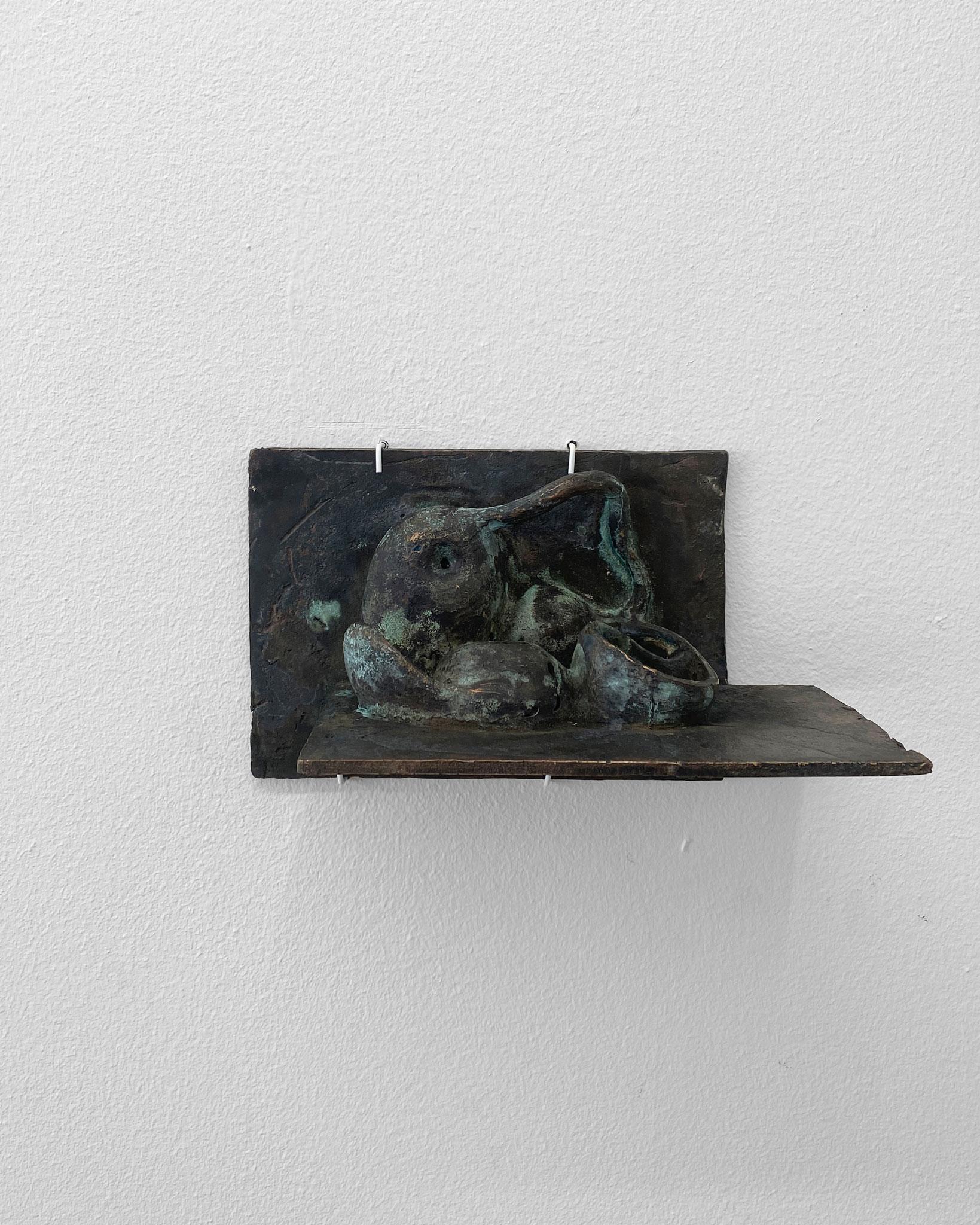 Skulptur, Bronze, Valtryek, Maja Johanne Lauesen, Springbrættet 6a, Udstilling *01